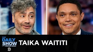 "Taika Waititi - Playing a Buffoonish Hitler in ""Jojo Rabbit"" 