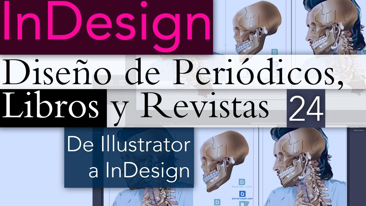 Tutorial Illustrator a InDesign - YouTube