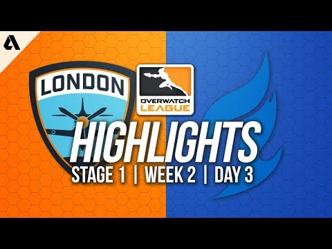 London Spitfire vs Dallas Fuel ft Profit Cocco | Overwatch League Highlights OWL Week 2 Day 3