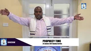Two Preachers in Harare, Zimbabwe - Prophecy
