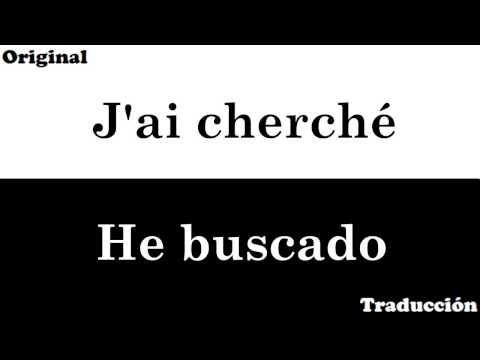 Amir - J'ai cherché [Letra y traducción]