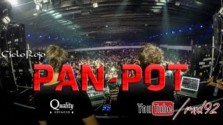 Pan-Pot [VideoMix] @ Espacio Quality / Cielo Rojo, Cordoba, Argentina (13.09.2014)