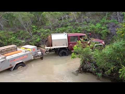 BRISSY TO THE TIP CAPE YORK JULY 2017