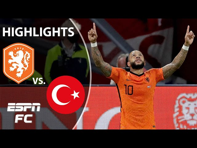 Memphis Depay puts on a show in Netherlands rout   World Cup Qualifying Highlights   ESPN FC
