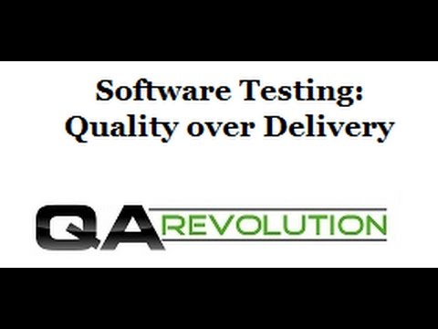 Software Testing: Software Quality over Delivery