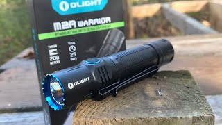 Gambar cover Olight M2R Warrior: Not For Me - I'll Take The M1X Striker Instead | Flashlight Review