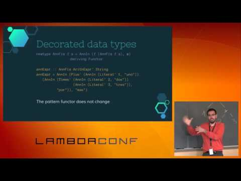 LambdaConf 2015 - Pattern Functors...  Alejandro Serrano Mena
