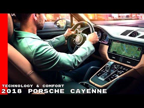 2018 Porsche Cayenne Technology & Comfort