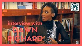 dawn richard about not growing up with r falling out with brandy azealia banks