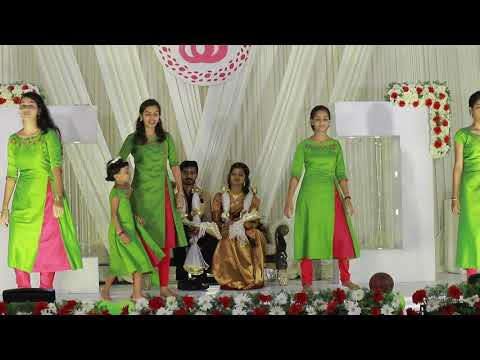Wedding Dance.. Somiya Betrothal Dance by Tharayil Family