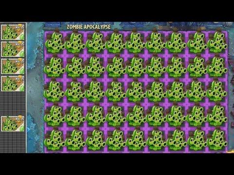 Plants vs Zombies 2 Hack - Vaina vs Horda de Zombistein