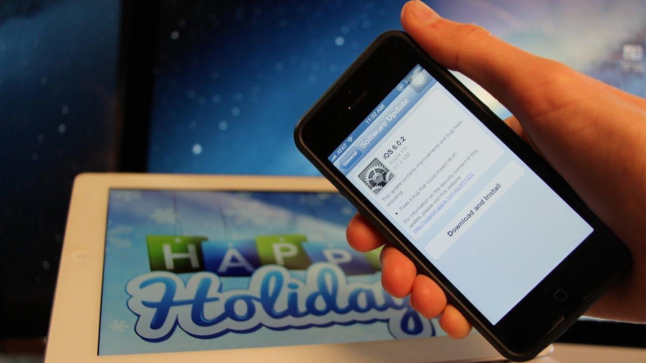 iOS Untethered, Jailbreak 6.0.1 News iOS 6 iPhone 5,4S, iPad 4, Mini 6.0.2 & Holidays