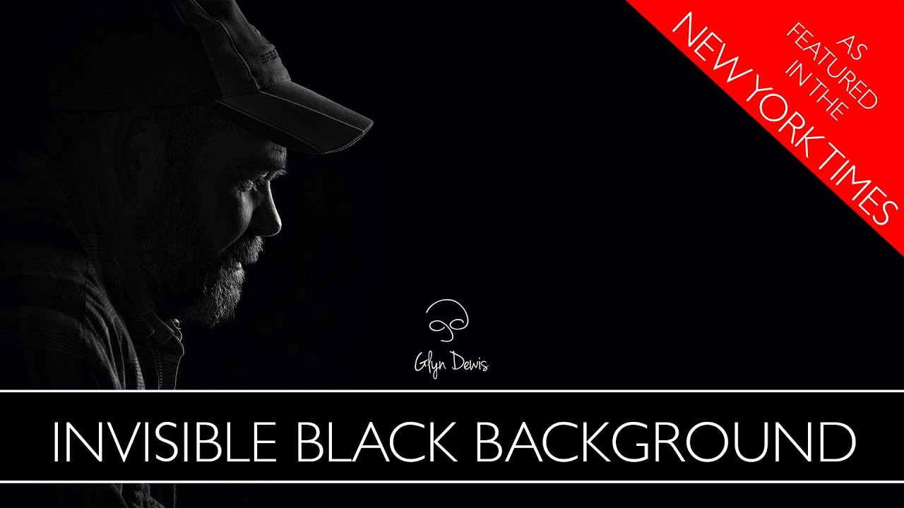 Photography Technique The Invisible Black Background