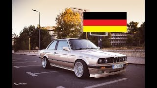 Asa arata un BMW cool, masculin, restaurat si modificat frumos.  BMW 316 e30 1990