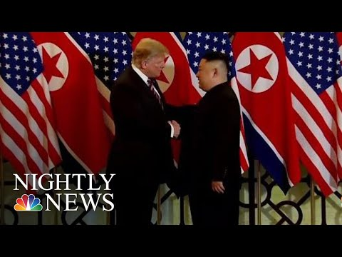 What To Expect From President Donald Trump's Summit With Kim Jong Un Tonight | NBC Nightly News