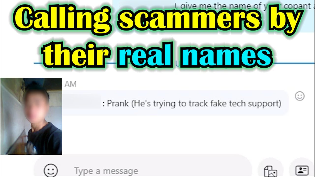 Scaring scammers = great fun!