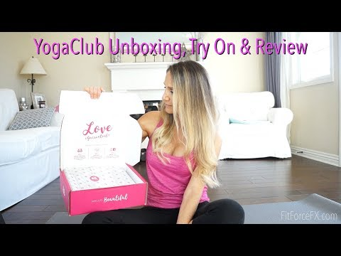 Affordable Fitness Wear? YogaClub Unboxing, Try On & Review! #monthlyfitnessboxes #YogaClub #yogabox
