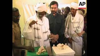 SUDAN: BALLOTS BEING COUNTED IN 1ST NATIONAL ELECTIONS FOR 10 YEARS