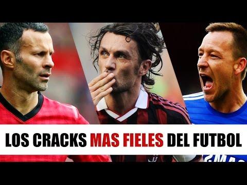 TOP 10 Futbolistas MAS FIELES a su Club