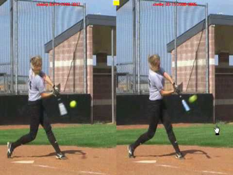 fastpitch softball hitting lesson - shoulder rotation ... correct softball swing diagram
