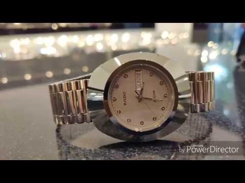 World first scratch resistant watch Rado diastar ( original)  video by watch World 1917