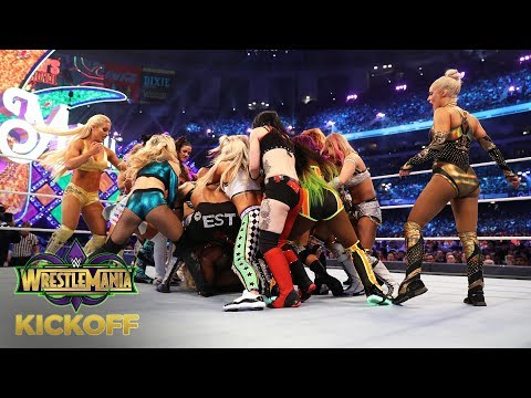 NXT Superstars Take Over The WrestleMania Women's Battle Royal Match: WrestleMania 34 Kickoff