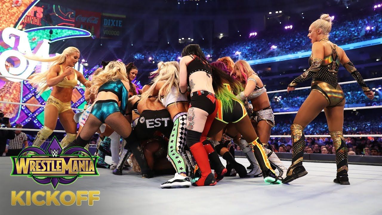 Download NXT Superstars take over the WrestleMania Women's Battle Royal Match: WrestleMania 34 Kickoff