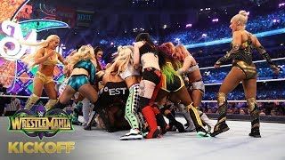 NXT Superstars take over the WrestleMania Women's Battle Royal Match: WrestleMania 34 Kickoff