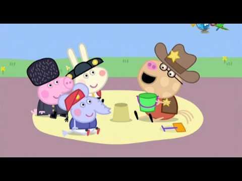 Мультик Свинка Пеппа 4 сезон 8 серия - Международный день.