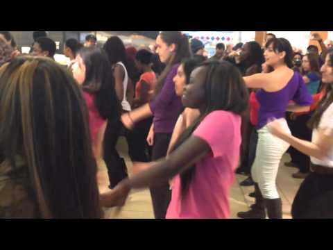 Flash Mob by Young Immigrant Women Leadership Program