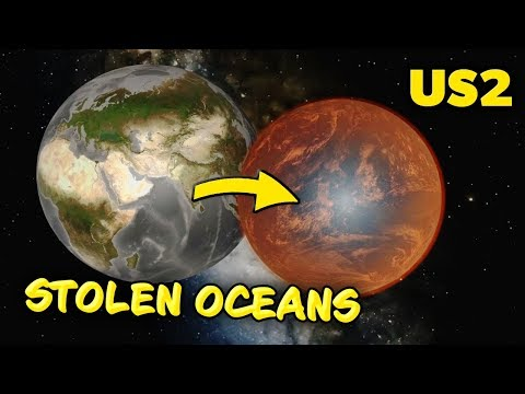 Mars STEALS Earth's Oceans in Universe Sandbox 2! |