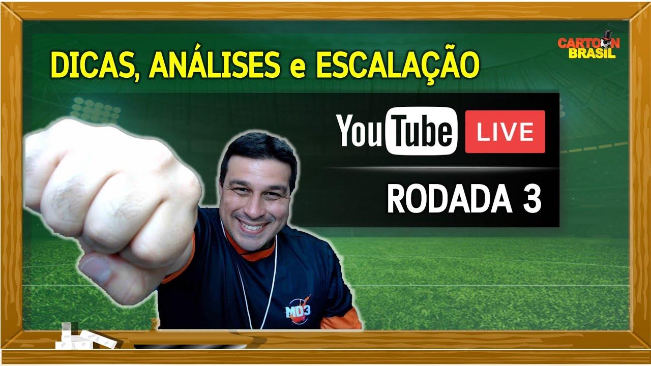 Download LIVE  DICAS - RODADA 3 - PEDRO JOGA?