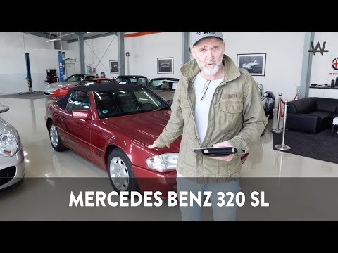 MERCEDES BENZ 320 SL, EZ. 14.7.1994