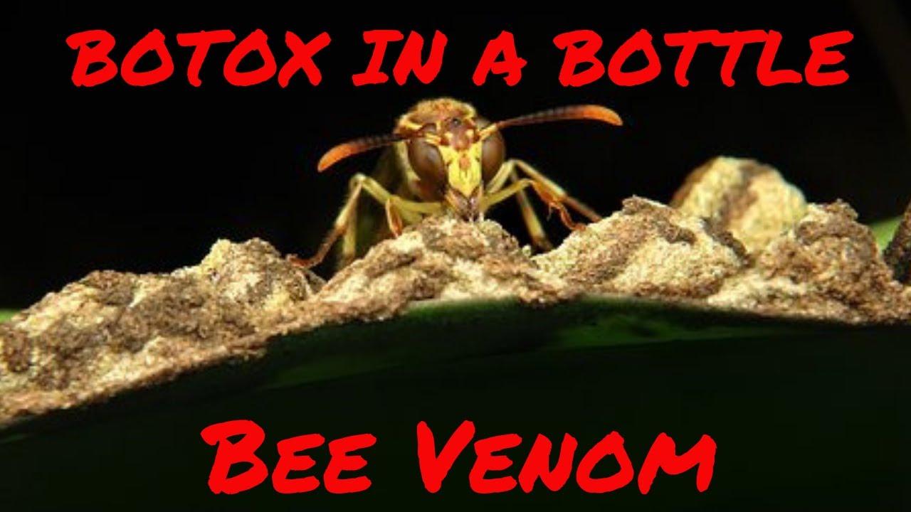 BOTOX IN A BOTTLE - Bee Venom
