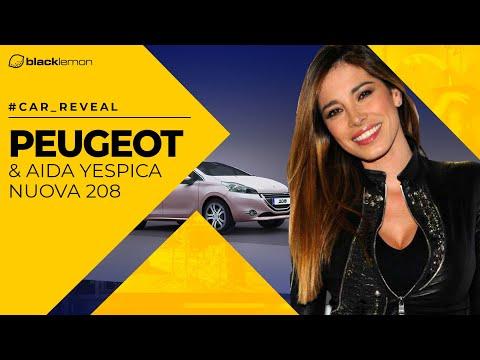 Lancio di Peugeot 208 con Aida Yespica  Blacklemon