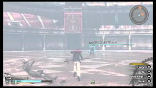 Final Fantasy Type-0 LP JP voices - All Characters gameplay display @ Arena