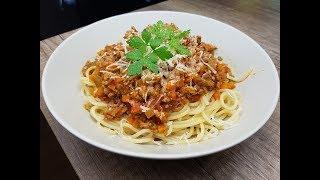 Болоньезе!!! Рецепт настоящей,  итальянской  BOLOGNESE !!!