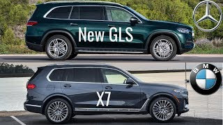 2020 Mercedes GLS vs BMW X7