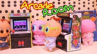 ROBLOX Rollenspiel ! Spielzeug und Puppen Spaß für Kinder mit Babys Spielzeit in Arcaden | SWTAD