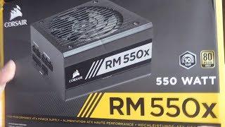 corsair RM550x - Unboxing