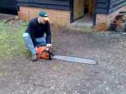 Husqvarna Chain Saw Youtube