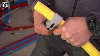 Installation de la conduite de gaz et de la chaudière