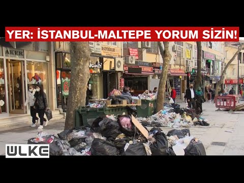 Türkiye, CHP'li Maltepe Belediyesi'nin 'Çöp' Rezaletini Konuşuyor!