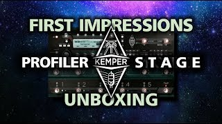 Kemper Profiler Stage - Unboxing, First Impressions, Sounds - by Glenn DeLaune
