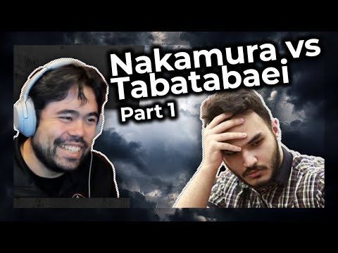 What's the meta for chess? | Hikaru Nakamura vs Amin Tabatabaei Part 1