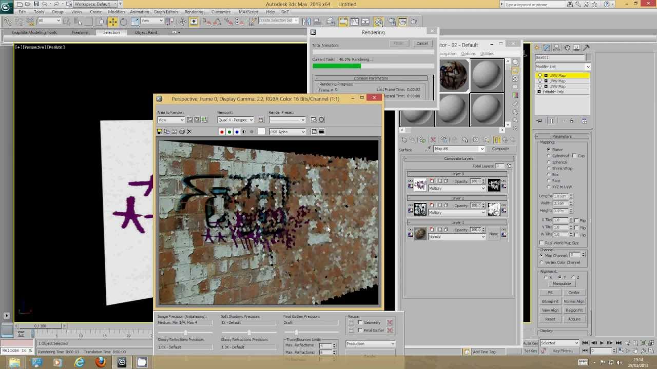 Overlaying Textures Decals Dirt Maps And Graffiti In DS Max - Decal graphics software