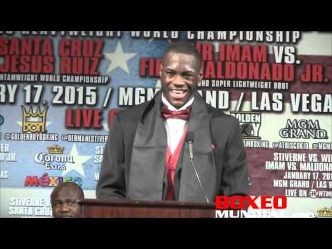Deontay Wilder on his win over Stiverne: I think I proved to the world what I am capable of
