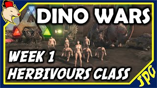 ARK: DINO WARS - Hectic Herbivours - Round 1 ARK SURVIVAL EVOLVED