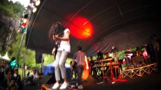 HUJAN - Mana Mungkin feat. Joe The Padangs - NORTHERN MUSIC FESTIVAL 2012