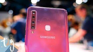 Más CÁMARAS que NINGUNO! Samsung Galaxy A9, primeras impresiones